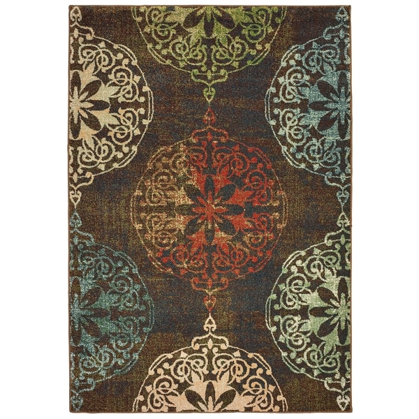 """Rectangle Rug/ Dawson 6 Ft. 7 In. X 9 Ft. 6 In./ Casual/ Oriental - 6'7"""" x 9'6"""""""