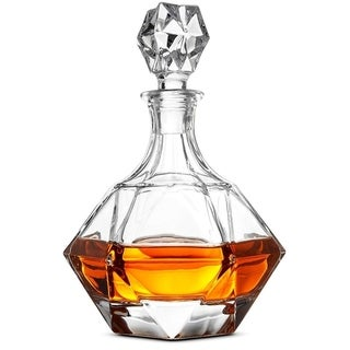 High-End Glass Whiskey Decanter Modern Decanter with European Design