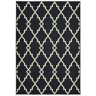 """Rectangle Rug/ Marina 8 Ft. 6 In. X 13 Ft. 0 In./ Outdoor/ Geometric - 8' 6"""" x 13' 0"""""""