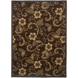 """Rectangle Rug/ Amelia 5 Ft. 0 In. X  7 Ft. 6 In./ Casual/ Floral - 5' x 7'6"""""""