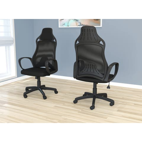 Office Chair-Black Mesh/Executive/Multi Position