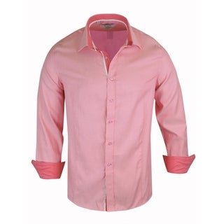 Monza Tailored Fit Solid Dress Shirt