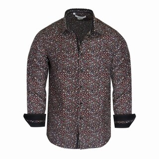 Monza Paisley Pattern Tailored-Fit Men's Shirt