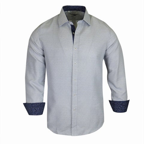 Monza Printed Tailotred-Fit Men's Shirt