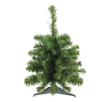 """18"""" Natural Two-Tone Pine Artificial Christmas Tree - Unlit"""