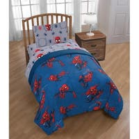 Marvel Spiderman Spidey Crawl Reversible Twin Comforter