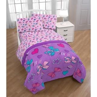 Nickelodeon Jojo Siwa Dream Believe 4 Piece Twin Bed Set