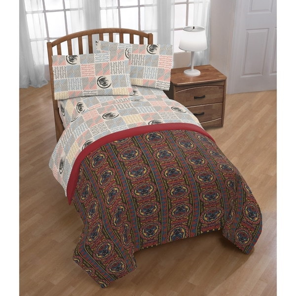 Shop Marvel Black Panther Tribal 4 Piece Twin Bed Set On