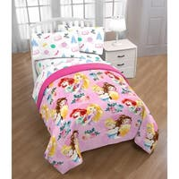Disney Princess Sassy 4 Piece Twin Bed Set