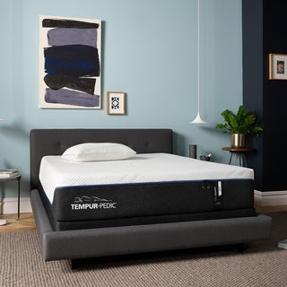 TEMPUR ProAdapt 12-inch Soft Queen-size Mattress with Ergo Extend Adjustable Base Set