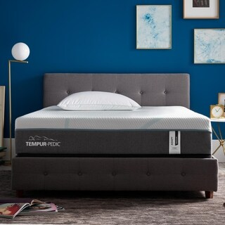 TEMPUR Adapt 11-inch Medium Hybrid Queen-size Mattress with Ergo Extend Adjustable Base Set
