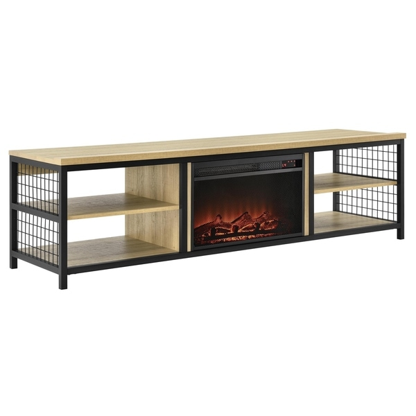 Shop Ameriwood Home Brookspoint Golden Oak Tv Stand With