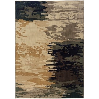 """Rectangle Rug/ Kasbah 7 Ft. 8 In. X 10 Ft.10 In./ Contemporary/ Abstract - 7' 8"""" x 10'10"""""""