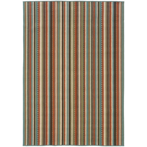 "Rectangle 7 Ft.10 In. X 10 Ft.10 In. Abstract Casual/ Montego/ Rug - 7'10"" x 10'10"""
