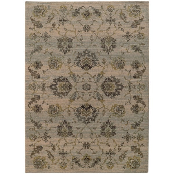 Shop Rectangle Rug Heritage 5 Ft 3 In X 7 Ft 6 In