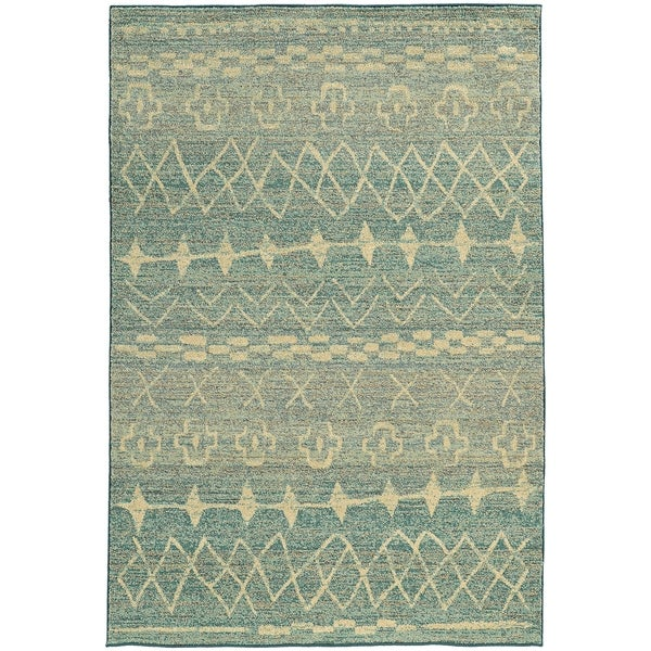 """Rectangle Rug/ Nomad 5 Ft. 3 In. X 7 Ft. 6 In./ Contemporary/ Abstract - 5' 3"""" x 7' 6"""""""