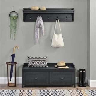 Link to Avenue Greene Becken Ridge Hanging Coat Rack - 8' x 11' - 8' x 11' Similar Items in Living Room Furniture