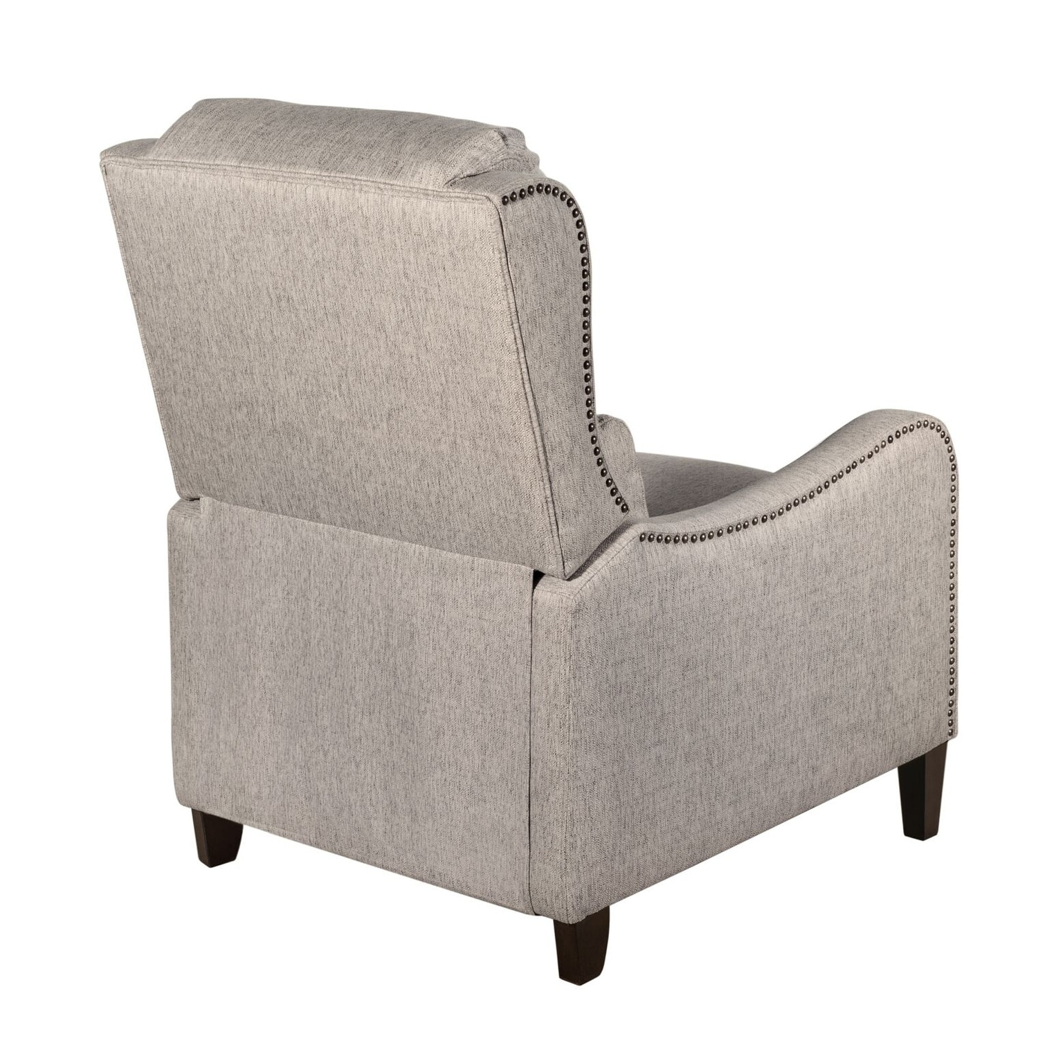 Tommy Hilfiger Eddington Modern Recliner Chair With Nailheads
