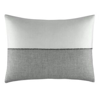 Vera Wang Degrade Woven Color Block Throw Pillow