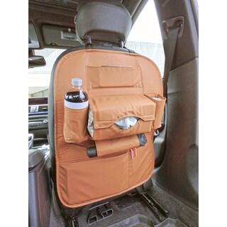 Car Seat Back Organizer Storage & Backseat Tablet, Phone, Beverage Holder - N/A