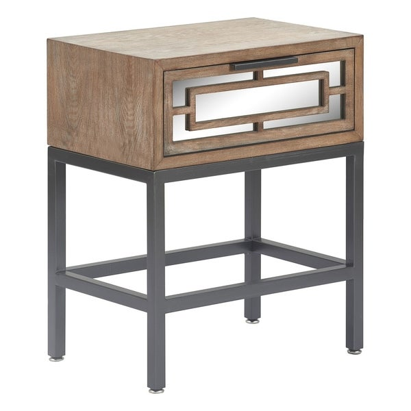 Hayworth Mirrored Coffee Table: Shop Tommy Hilfiger Hayworth Mirrored Side Table, Ash Gray