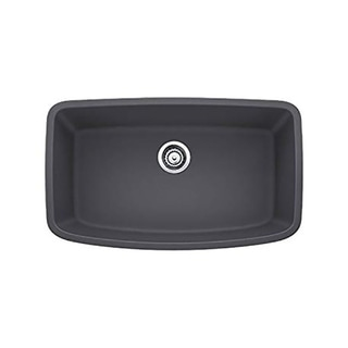 Blanco SILGRANIT Granite Composite Sink VALEA® Super Single Bowl Cinder