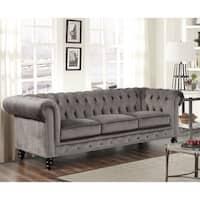 Gracewood Hollow Dib Velvet Sofa