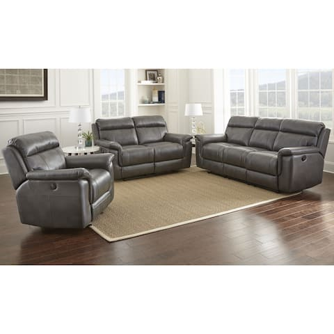 Copper Grove Flathead 3-piece Reclining Set