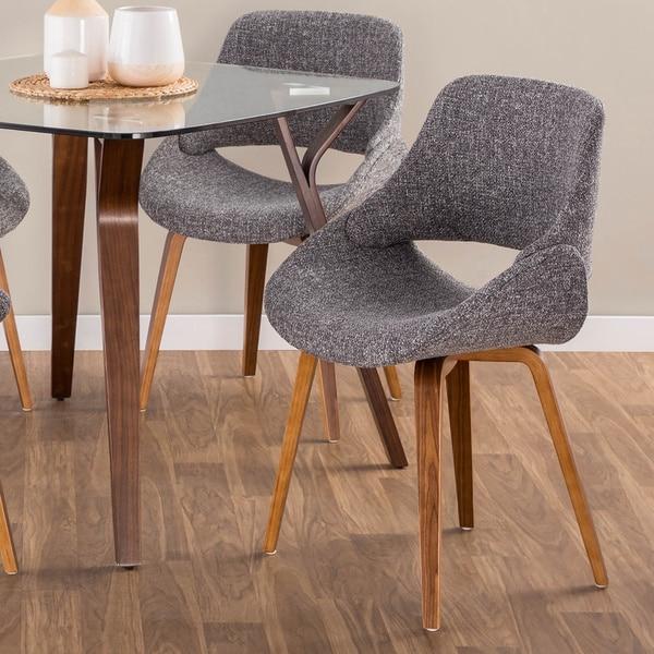 Carson Carrington Svellingen Mid-Century Modern Cross Frame Bent Wood Chair (Set of 2) - N/A. Opens flyout.