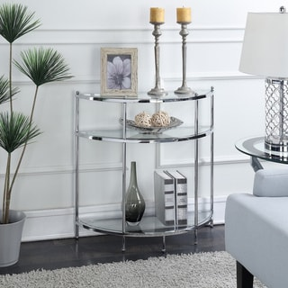 Silver Orchid Farrar Entryway Table