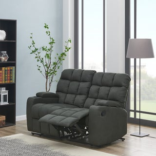 Link to Copper Grove Bielefeld Grey 2-seat Reclining Storage Loveseat - 2 Seat - 2 Seat Similar Items in Living Room Furniture