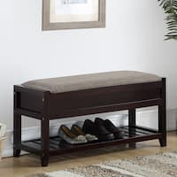 Porch & Den Humes Shoe Bench with Storage
