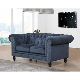 Gracewood Hollow Dib Velvet Loveseat
