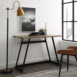 """Carbon Loft Kenyon 42"""" Metal Wrap Writing Desk"""