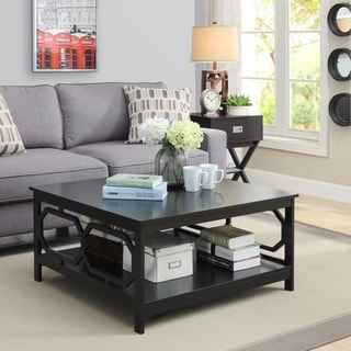 Shop Copper Grove Hitchie 36-inch Square Coffee Table - On