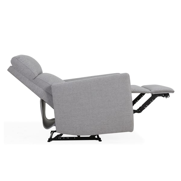 Incredible Shop Carson Carrington Harlev Grey Power Recliner Chair With Pabps2019 Chair Design Images Pabps2019Com