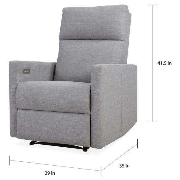 Amazing Shop Carson Carrington Harlev Grey Power Recliner Chair With Pabps2019 Chair Design Images Pabps2019Com