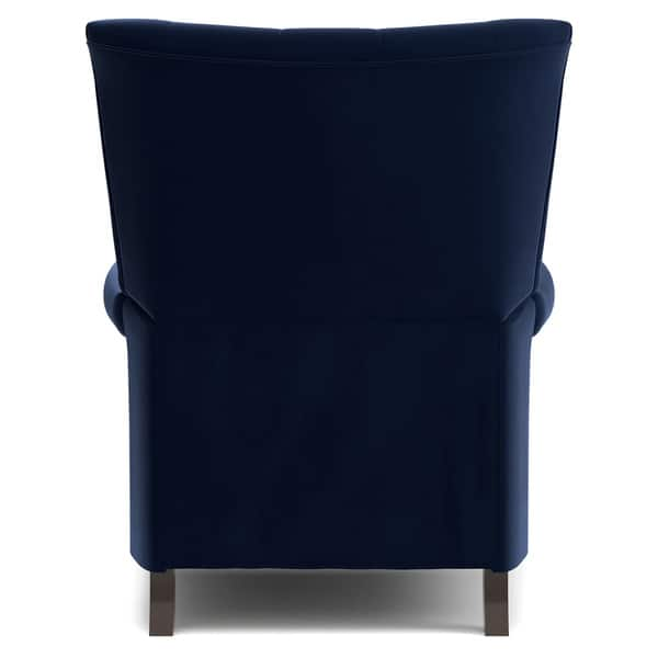 Swell Shop Copper Grove Kamoya Navy Blue Velvet Push Back Recliner Gmtry Best Dining Table And Chair Ideas Images Gmtryco