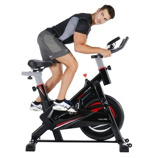 Merax S301 indoor Cycling Bike Cycle Trainer Exercise Bicycle - Red