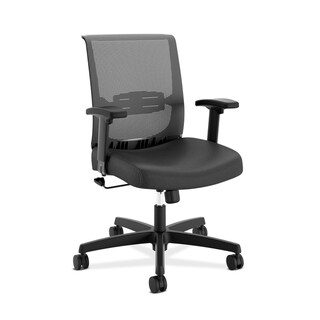 Link to HON Convergence Task Chair - Computer Chair for Office Desk, Black (HONCMS1AACCF10) Similar Items in Office & Conference Room Chairs