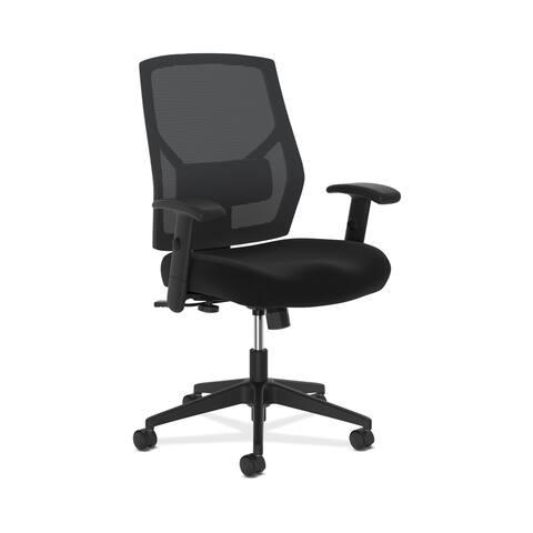 HON Crio High-Back Task Chair for Office Desk, Black (BSXVL581)