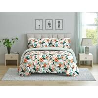 Peach & Oak Comforter Set - Cambridge