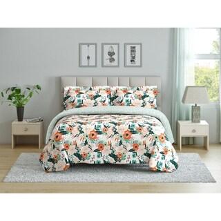 Peach & Oak Comforter Set - Cambridge