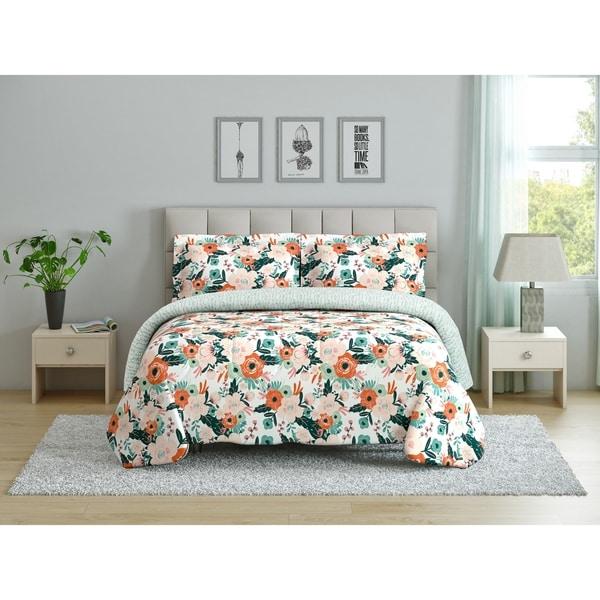 Outstanding Shop Peach Oak Comforter Set Cambridge Free Shipping Download Free Architecture Designs Scobabritishbridgeorg