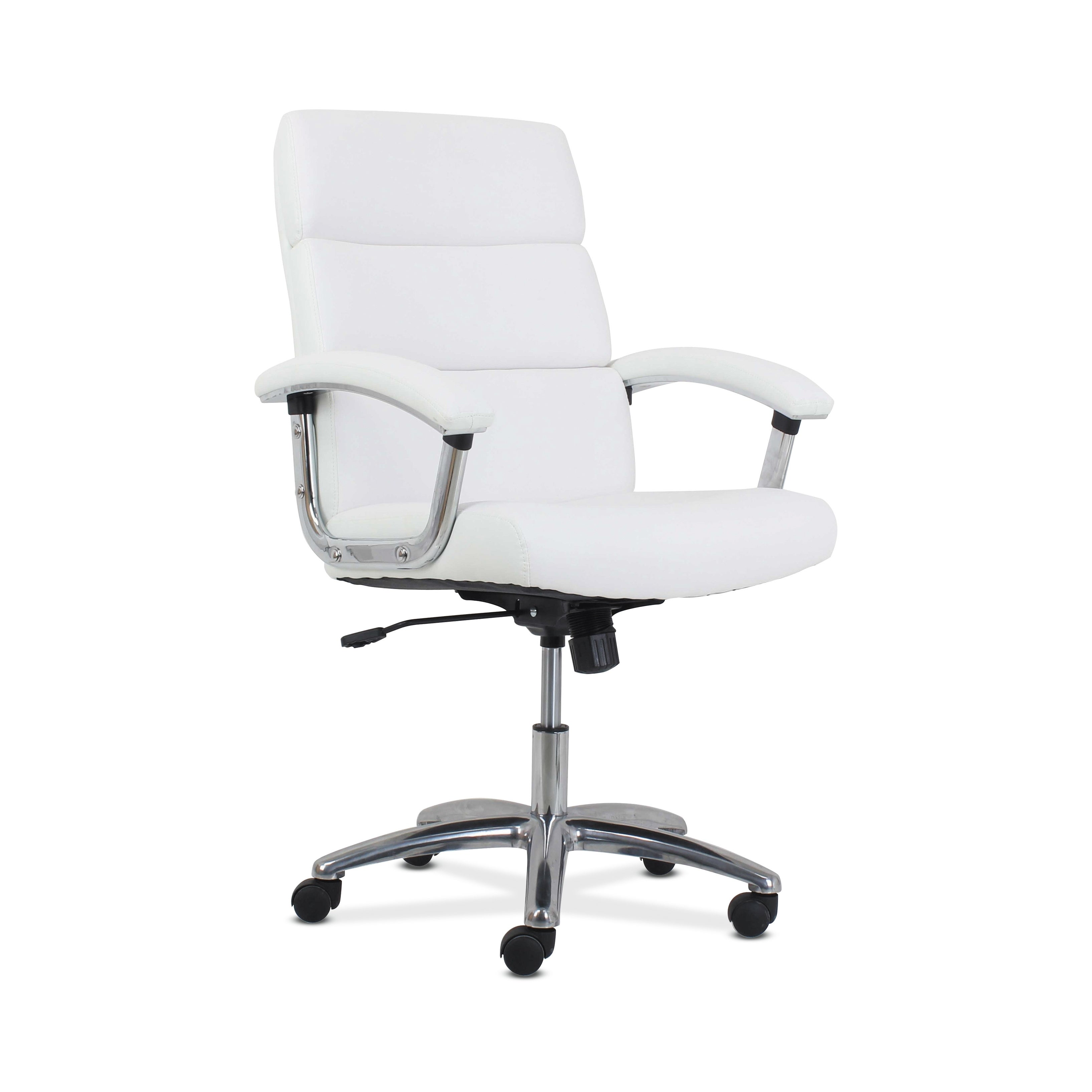 Hon Traction High Back Modern Leather Computer Chair White Honvl103 Overstock 23123358