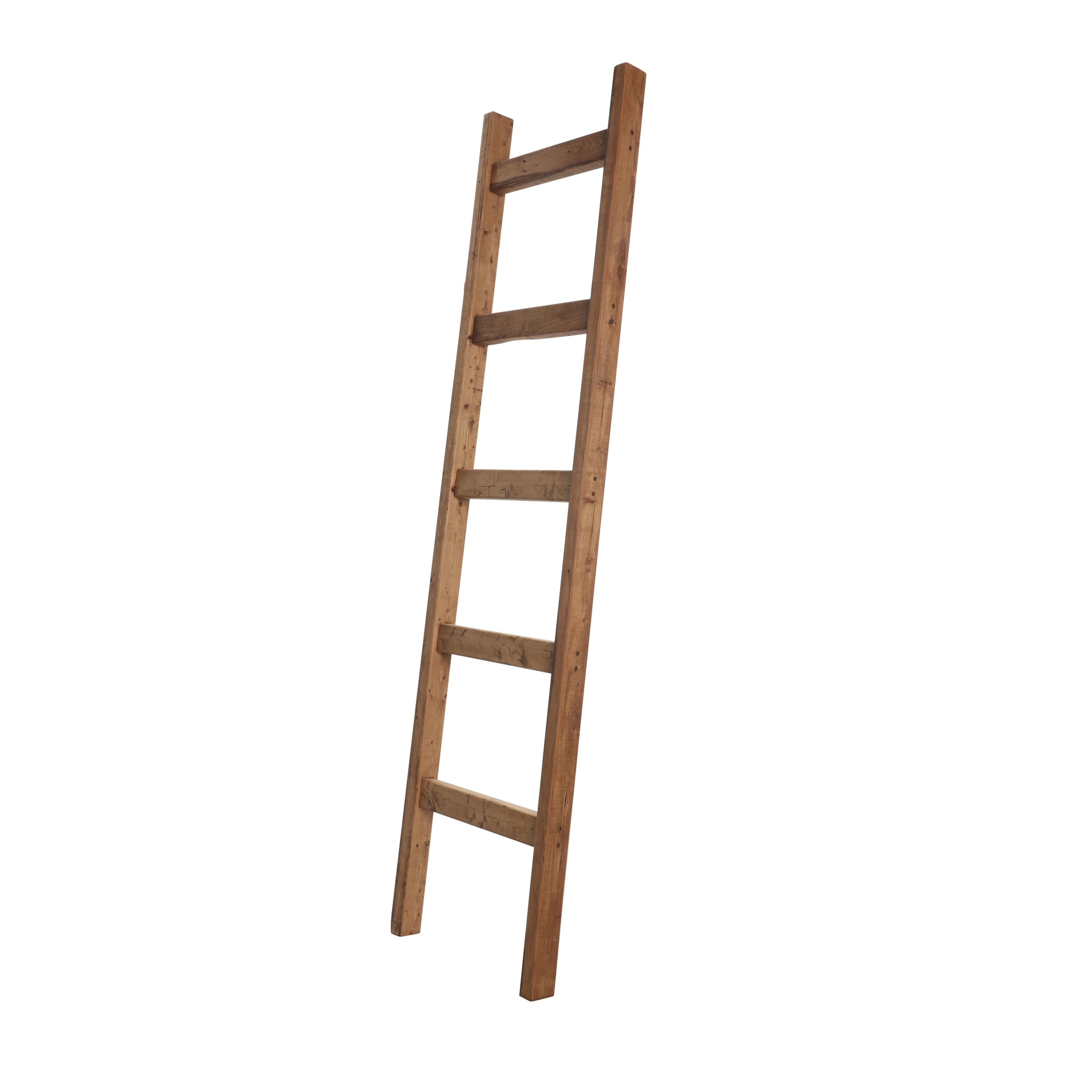 Farmhouse Decorative Wooden Blanket Ladder