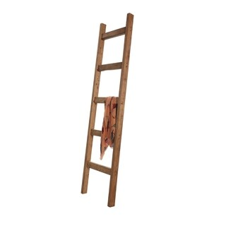 Farmhouse Decorative Wooden Blanket Ladder