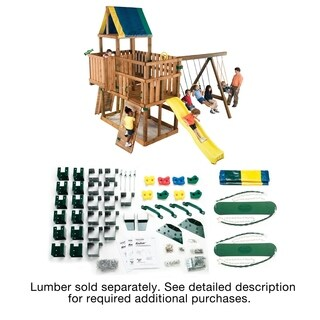 Kodiak Swing Set Hardware Kit (Wood Not Included)