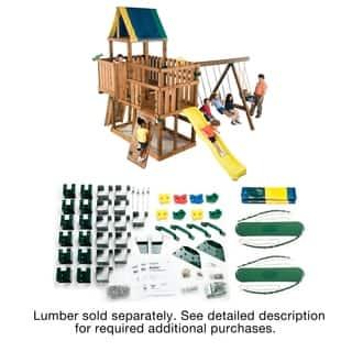 Swing-N-Slide Kodiak Swing Set DIY Hardware Kit (Lumber Not Included) - 21.5'x17'x13'