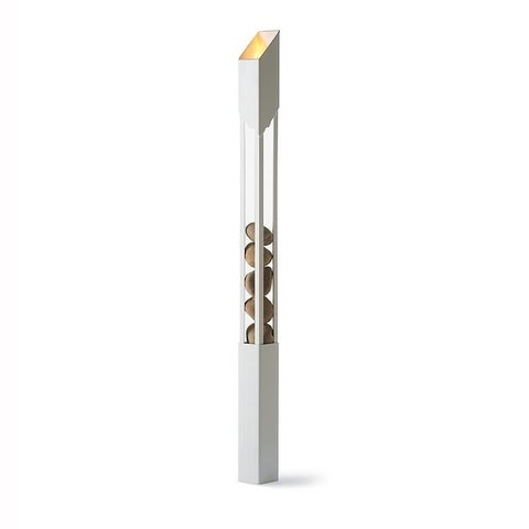 Brio Torch in White by Terra Flame